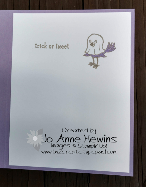 CCMC#529 Trick or Tweet inside by Jo Anne Hewins