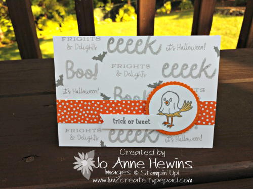 NC Demo Blog Hop alternate ghost card by Jo Anne Hewins