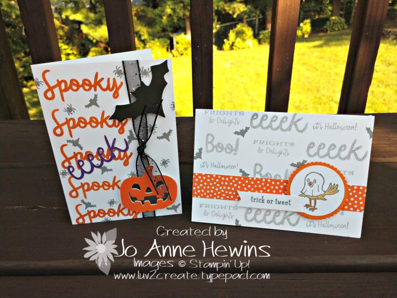NC Blog Hop Paper Pumpkin alternative cards by Jo Anne Hewins