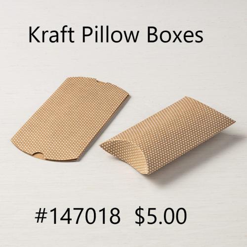Kraft Pillow Box
