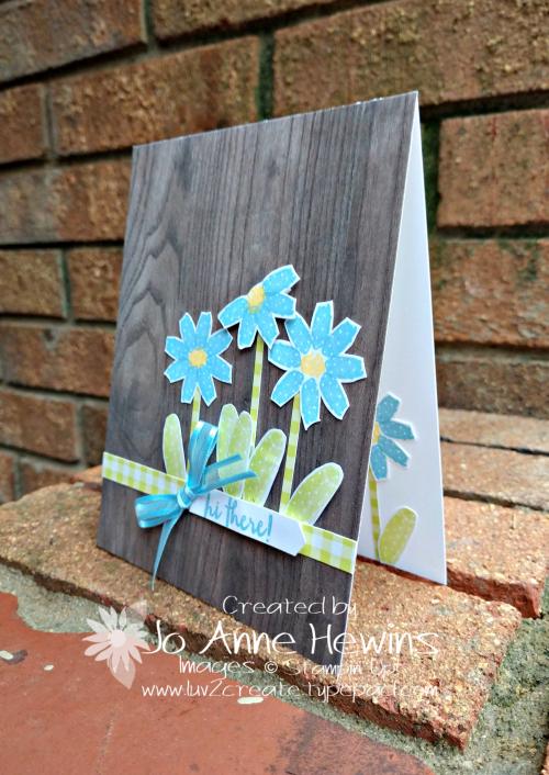 Flowering Desert Flowers card by Jo Anne Hewins