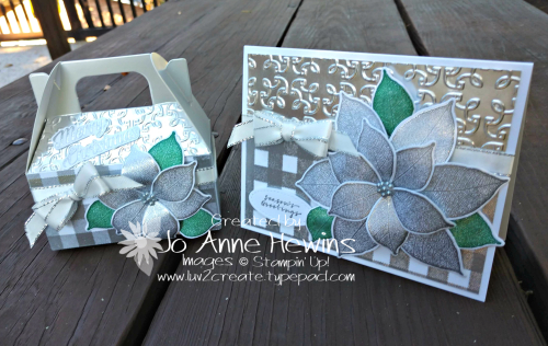 OSAT for November card and 3D item by Jo Anne Hewins