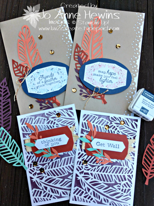 October Paper Pumpkin cards by Jo Anne Hewins