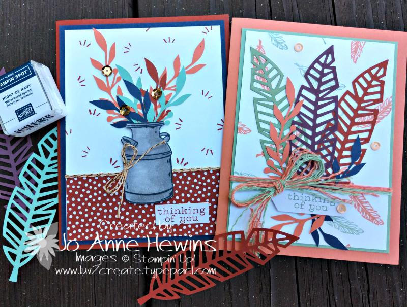 October paper pumpkin alternate cards by Jo Anne Hewins