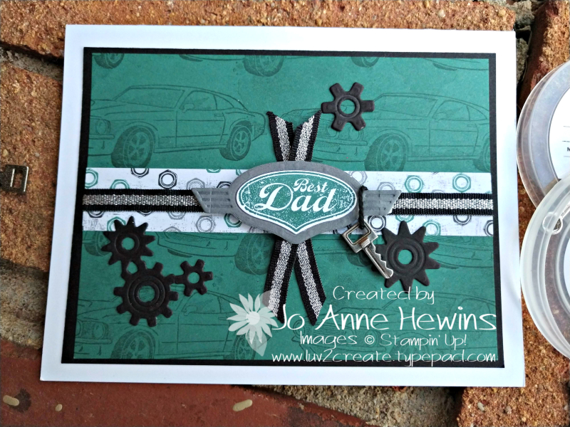 Classic Garage Suite card by Jo Anne Hewins