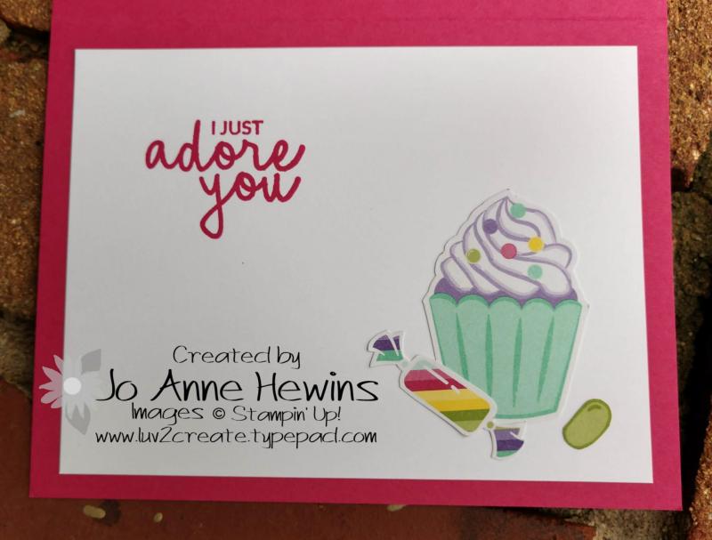 How Sweet It Is  inside by Jo Anne Hewins