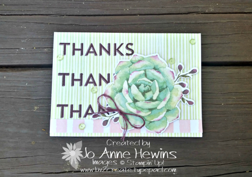 Notes of Kindness Alternative Card #1 by Jo Anne Hewins