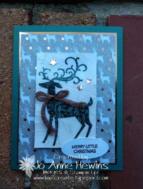 CCMC #537 Dashing Deer by Jo Anne Hewins