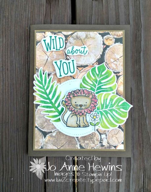 A Little Wild and Tropical Chic by Jo Anne Hewins