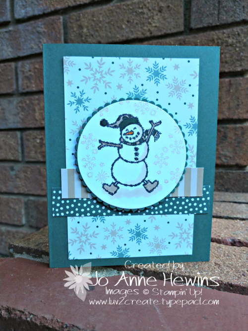 CCMC #538 Spirited Snowmen by Jo Anne Hewins