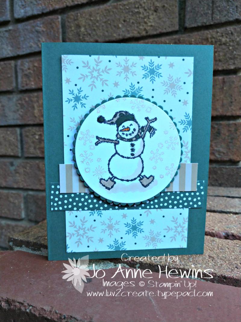 CCMC #538 Spirited Snowmen by Jo Anne Hewins