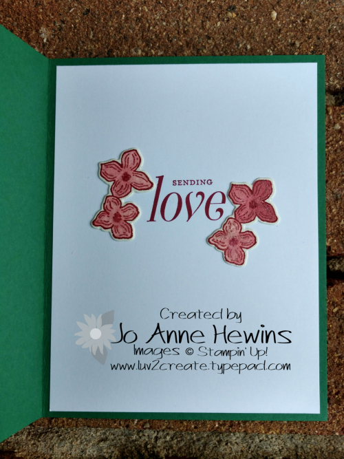 Color Fusers Floral Frames inside by Jo Anne Hewins
