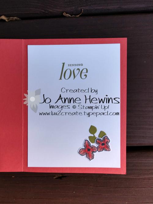 Floral Frames inside by Jo Anne Hewins