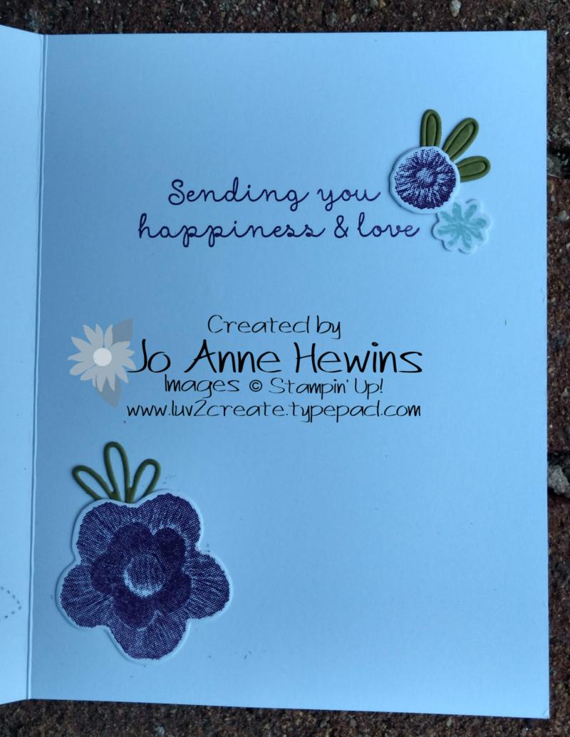 Needle & Thread inside by Jo Anne Hewins