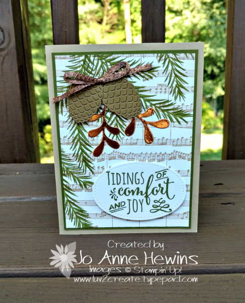 Christmas Pines CASE of the catalog by Jo Anne Hewins