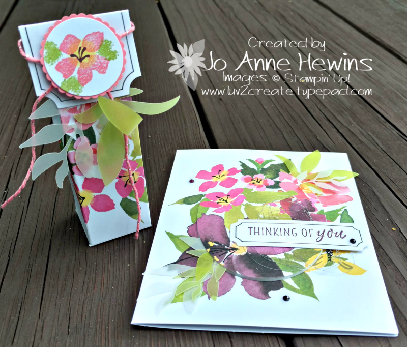 August Paper Pumpkin outside of the box by Jo Anne Hewins