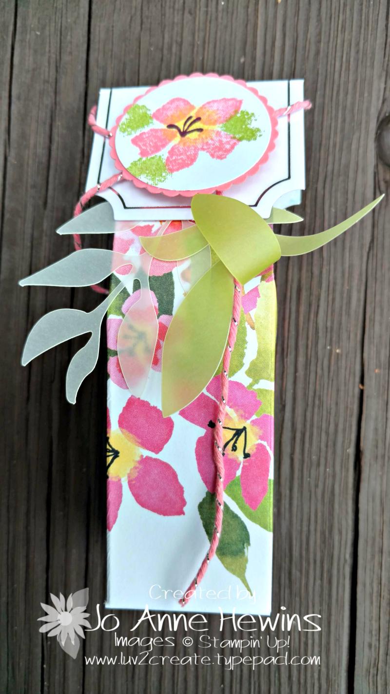 August Paper Pumpkin box by Jo Anne Hewins