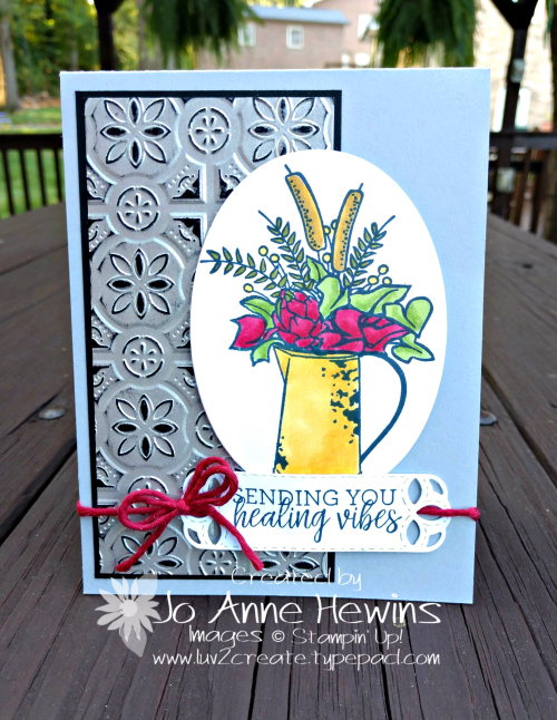 Country Home card by Jo Anne Hewins