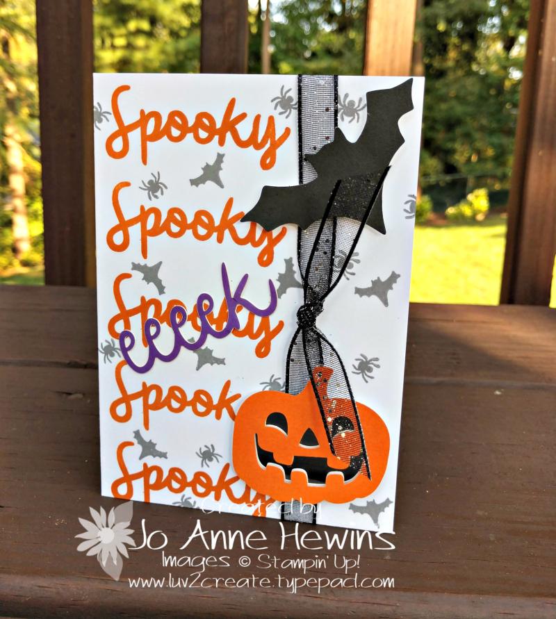 NC Deom Blog Hop pumpkin alternative card by Jo Anne Hewins