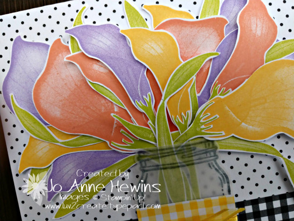 NC Demo Blog Hop for January lasting Lily close up of flowers by Jo Anne Hewins