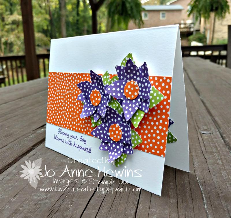 CCMC#533 Four-Petal Flower punch by Jo Anne Hewins