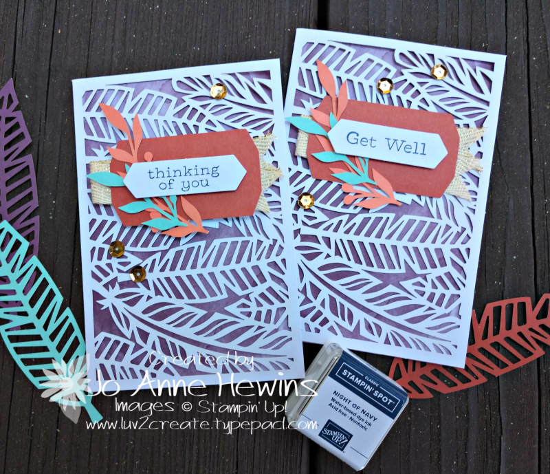 October paper pumpkin cut outs cards by Jo Anne Hewins
