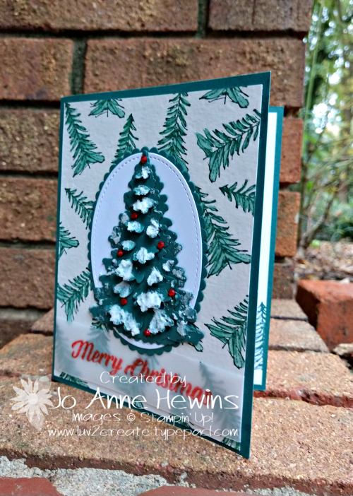 Timeless Tidings Tree by Jo Anne Hewins