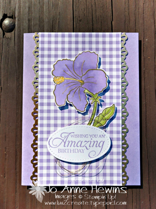 Humming Along and Gala Gingham by Jo Anne Hewins