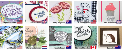 February Stamping Around the World teaser
