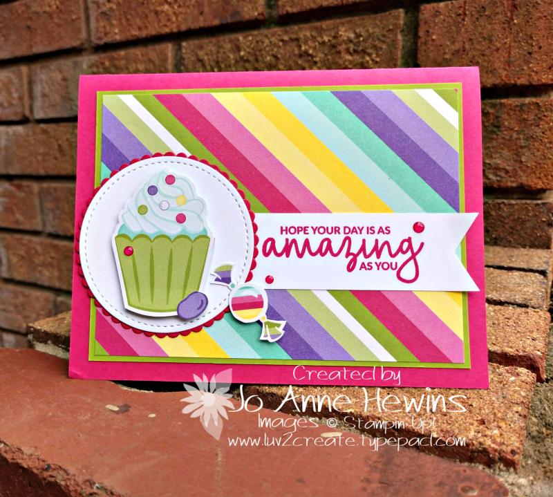 How Sweet It Is card by Jo Anne Hewins