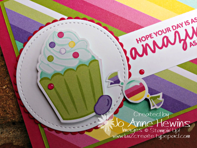 How Sweet It Is close up by Jo Anne Hewins