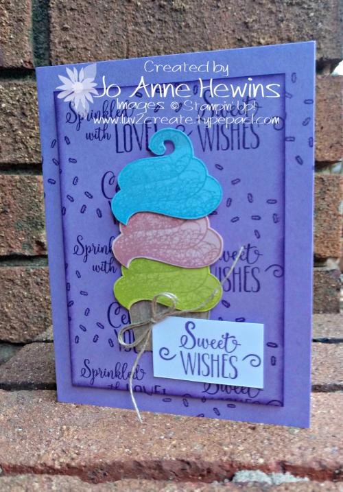 Hello Cupcake SAB by Jo Anne Hewins