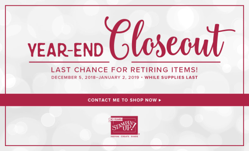 Year end closeout 2