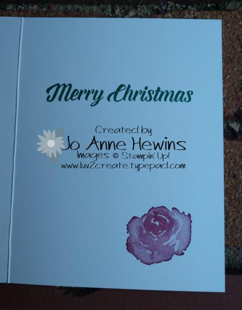 CCMC#540 First Frost inside by Jo Anne Hewins