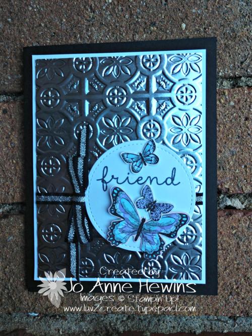 Tin Tile Butterflies by Jo Anne Hewins