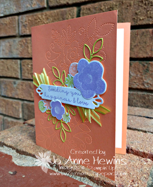Needle & Thread card by Jo Anne Hewins