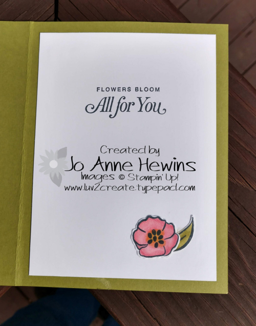 All that You Are Alternative inside by Jo Anne Hewins