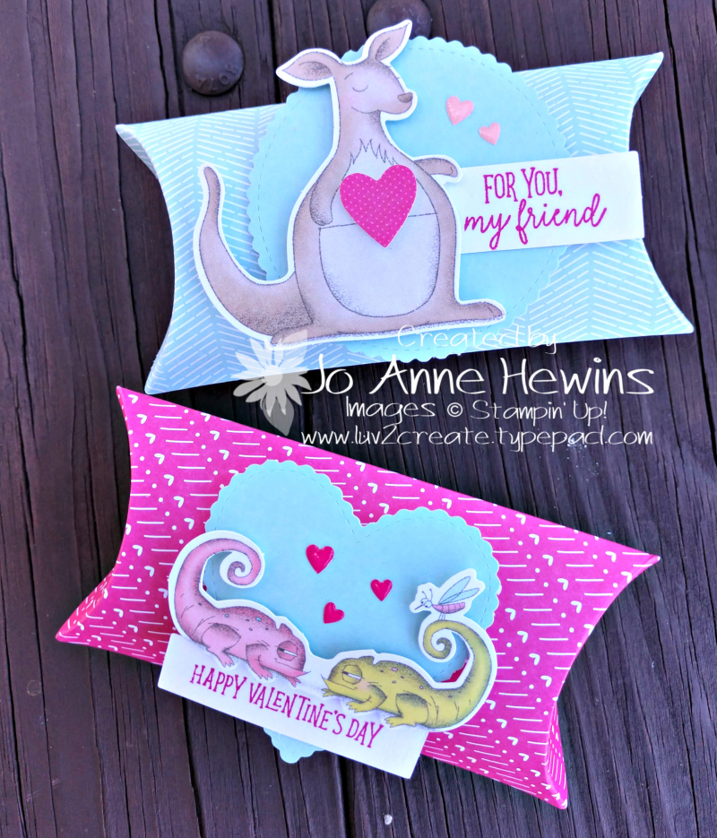 Be Mine Valentine Paper Pumpkin for January by Jo Anne Hewins