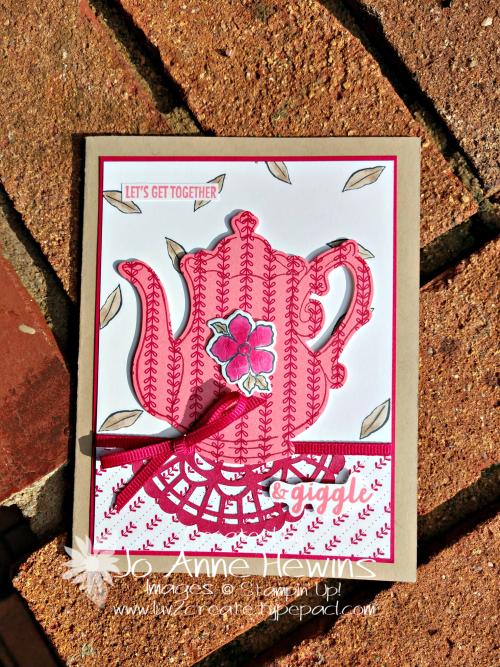 CCMC #545 Tea Time by Jo Anne Hewins