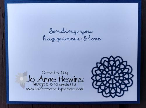 Dear Doily bundle inside of card by Jo Anne Hewins