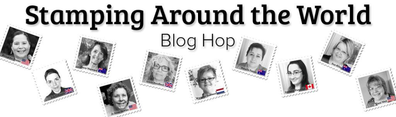 Stamping Around the World Blog Hop