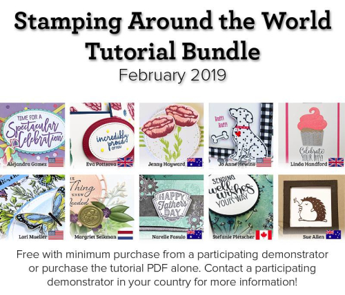 February Stamping Around the World advertisement