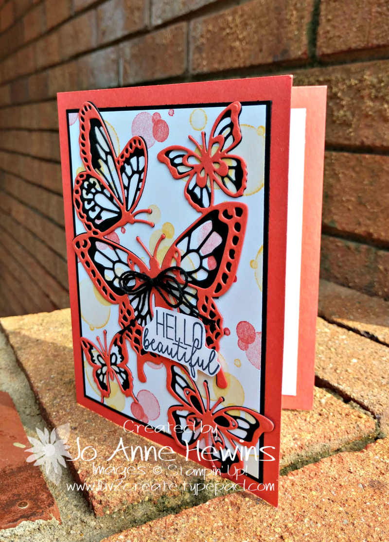 Beauty Abounds and Butterfly Beauty Thinlits by Jo Anne Hewins