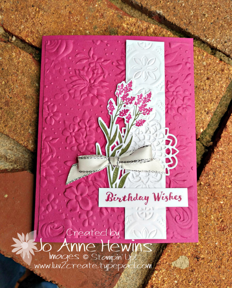 Country Floral EF and Dear Doily by Jo Anne Hewins