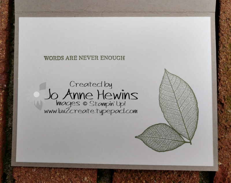 Rooted in Nature Sympathy Inside by Jo Anne Hewins