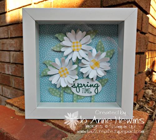 OSAT Daisy Punch Frame by Jo Anne Hewins