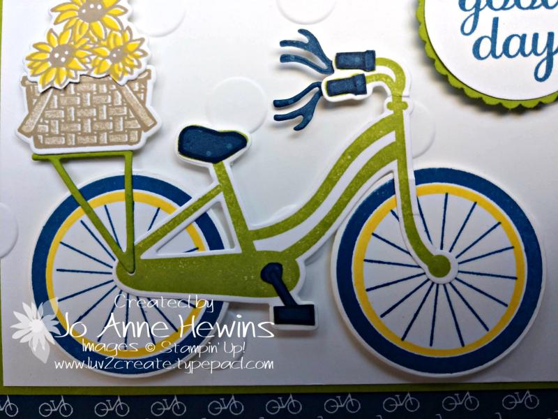 CCMC #557 Bike Ride Close Up of Bike by Jo Anne Hewins