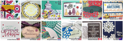 April Stamping Around the World Teaser 1