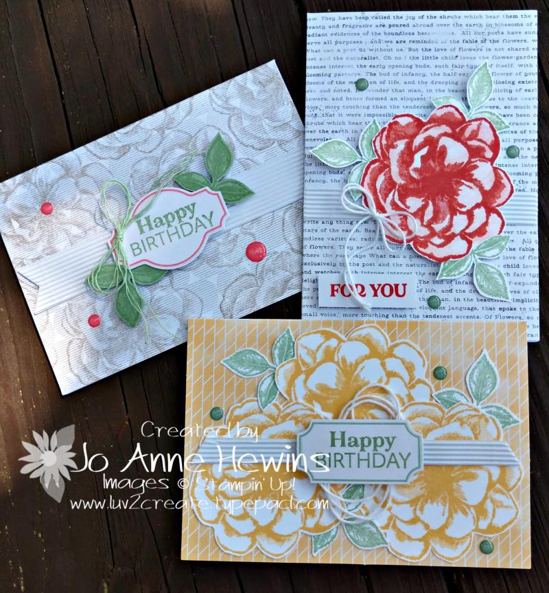 April Paper Pumpkin alternatives by Jo Anne Hewins