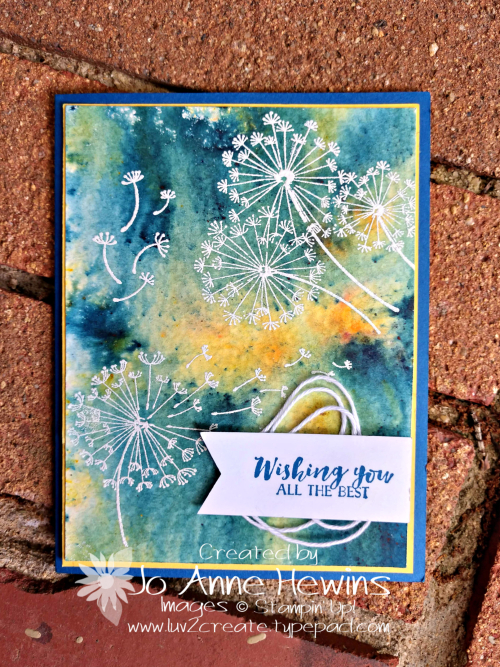 Dandylion Wishes by Jo Anne Hewins